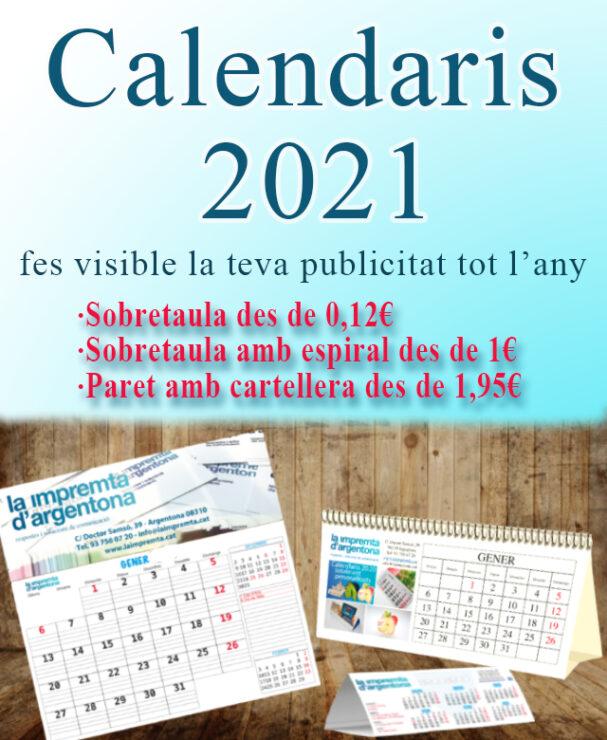 calendaris 2021